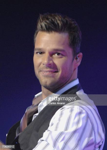 Singer Ricky Martin performs on stage during 53th Ondas Awards on November 23 2006 at Teatre Musical in Barcelona Spain