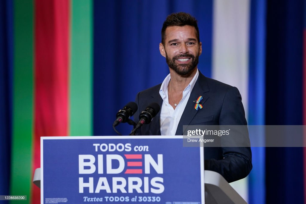 Presidential Candidate Joe Biden Attends Hispanic Heritage Event In Florida : News Photo