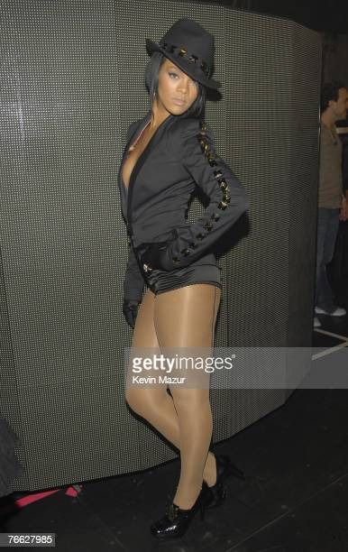 Singer Rihann backstage at the 2007 MTV Video Music Awards at The Palms on September 9 2007 in Las Vegas Nevada **EXCLUSIVE**