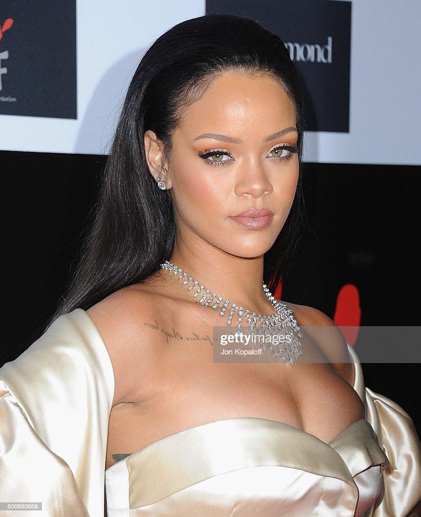 Rihanna and The Clara Lionel Foundation Host 2nd Annual Diamond Ball - Arrivals : News Photo