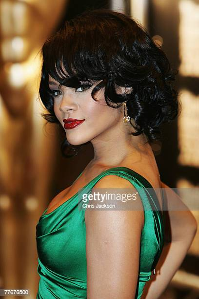 Singer Rihanna arrives at the World Music Awards 2007 at the Monte Carlo Sporting Club on November 4, 2007 in Monte Carlo, Monaco.