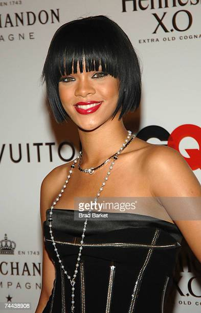 Singer Rihanna attends Kanye West's 30th birthday celebration at Louis Vuitton on June 07 2007 in New York City