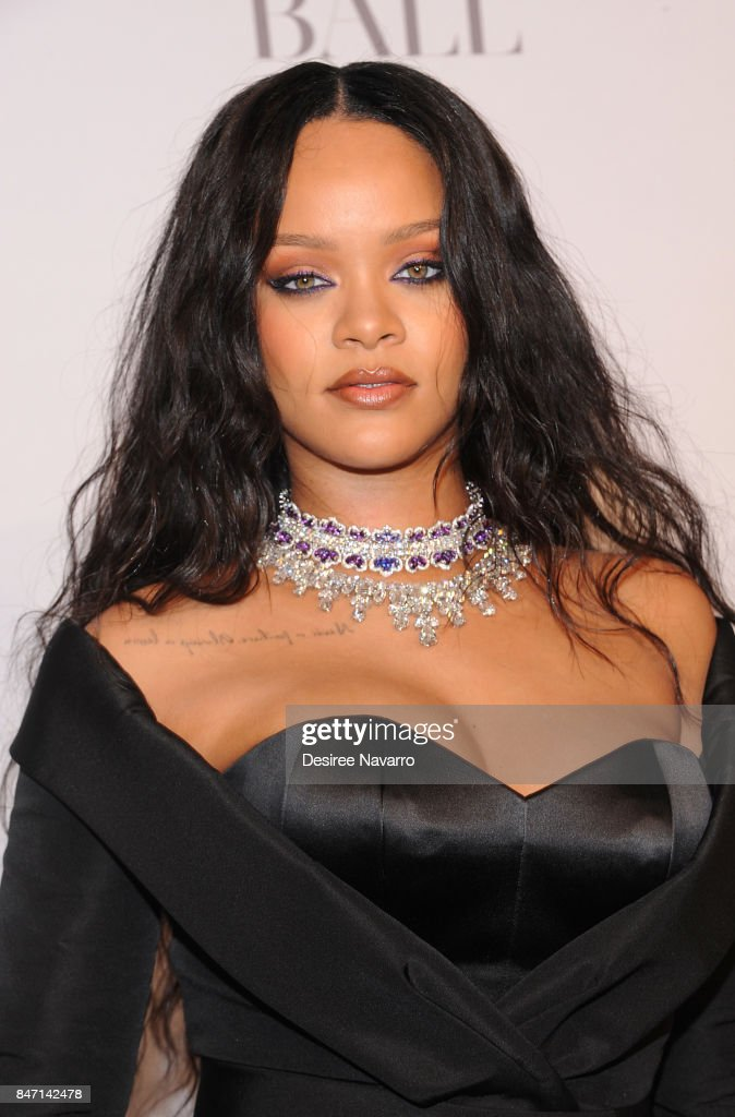 Singer Rihanna attends Rihanna's 3rd Annual Diamond Ball at Cipriani Wall Street on September 14, 2017 in New York City.