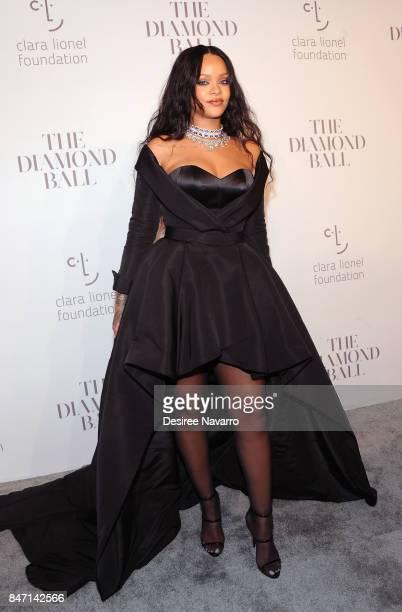 Singer Rihanna attends Rihanna's 3rd Annual Diamond Ball at Cipriani Wall Street on September 14 2017 in New York City