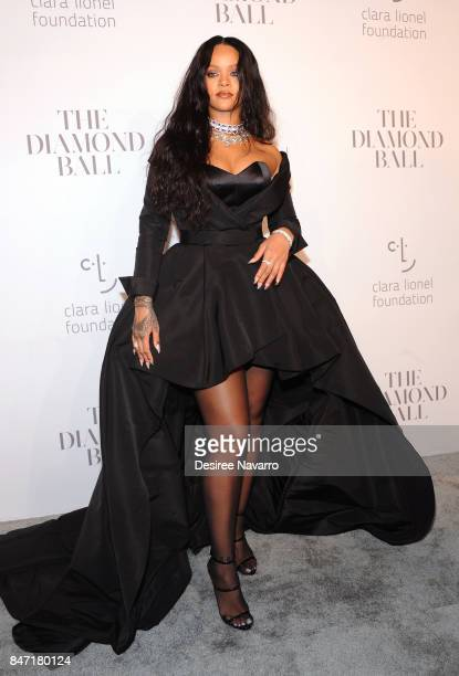 Singer Rihanna attends Rihanna's 3rd Annual Diamond Ball at Cipriani Wall Street on September 14 2017 in New York City