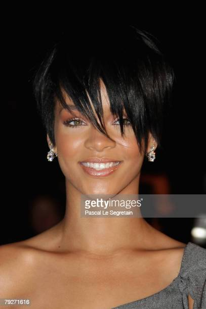 Singer Rihanna attends the 2008 NRJ Music Awards held at the Palais des Festivals on January 26, 2008 in Cannes, France.