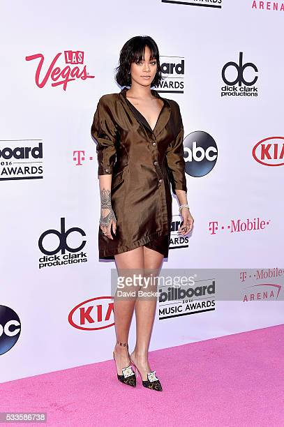 Singer Rihanna attends the 2016 Billboard Music Awards at TMobile Arena on May 22 2016 in Las Vegas Nevada