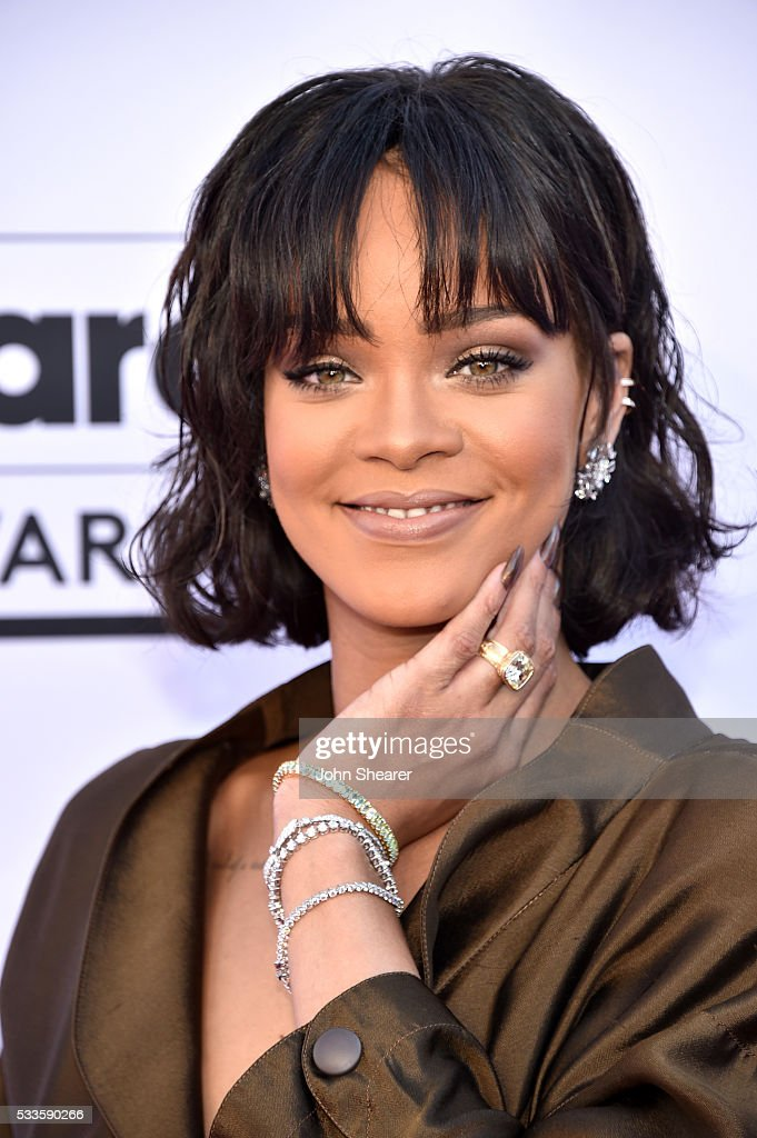 Singer Rihanna attends the 2016 Billboard Music Awards at T-Mobile Arena on May 22, 2016 in Las Vegas, Nevada.