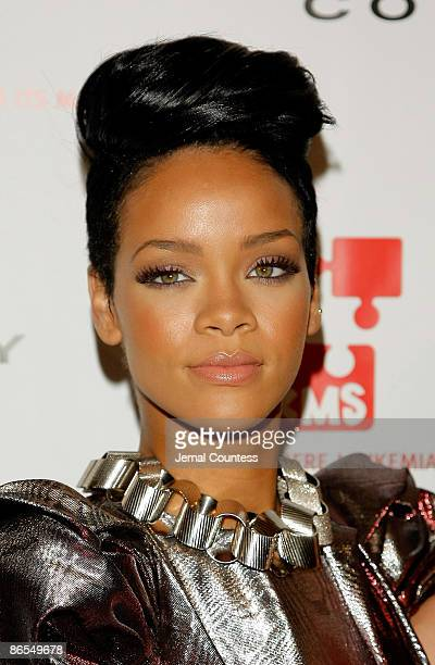 Singer Rihanna attends the 3rd annual DKMS gala at Cipriani 42nd Street on May 7 2009 in New York City