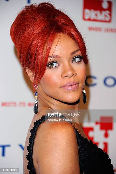 Singer Rihanna attends the DKMS' 5th Annual Gala Linked Against Leukemia honoring Rihanna Michael Clinton hosted by Katharina Harf at Cipriani Wall...