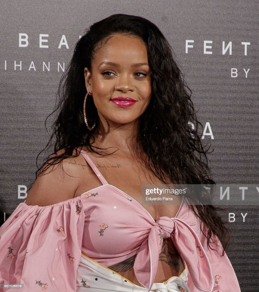 Rihanna Fenty Beauty Presentacion in Madrid