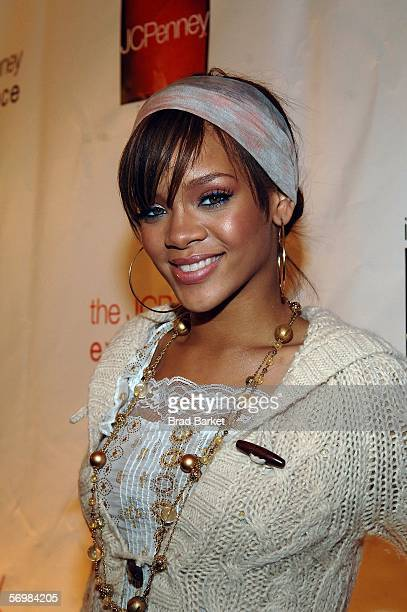 Singer Rihanna attends the opening of the JCPenney Experience on March 2 2006 in New York City
