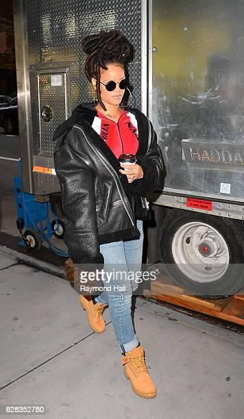 Singer Rihanna is seen on December 7 2016 in New York City