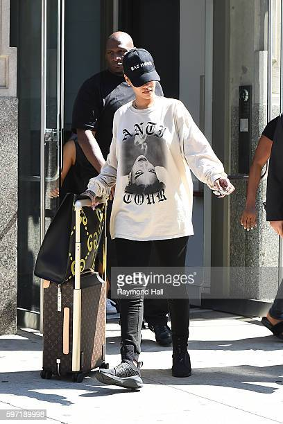 Singer Rihanna is seen walking in Soho on August 28 2016 in New York City