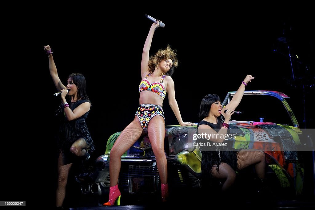 Rihanna Performs In Concert In Madrid : News Photo