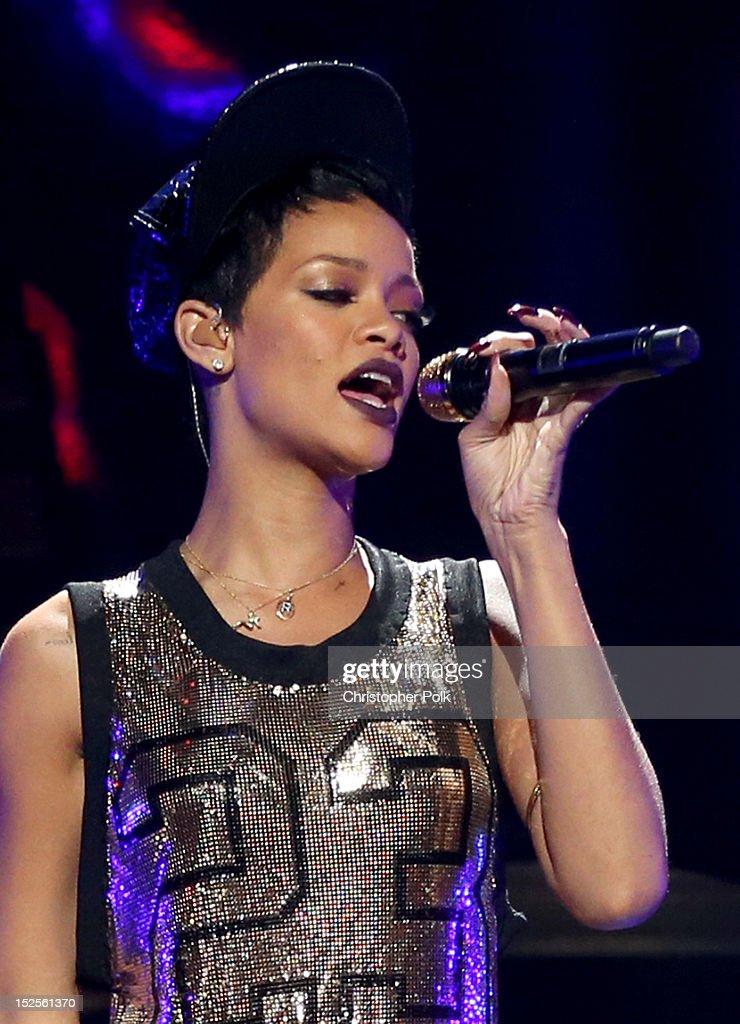 2012 iHeartRadio Music Festival - Day 1 - Show : News Photo