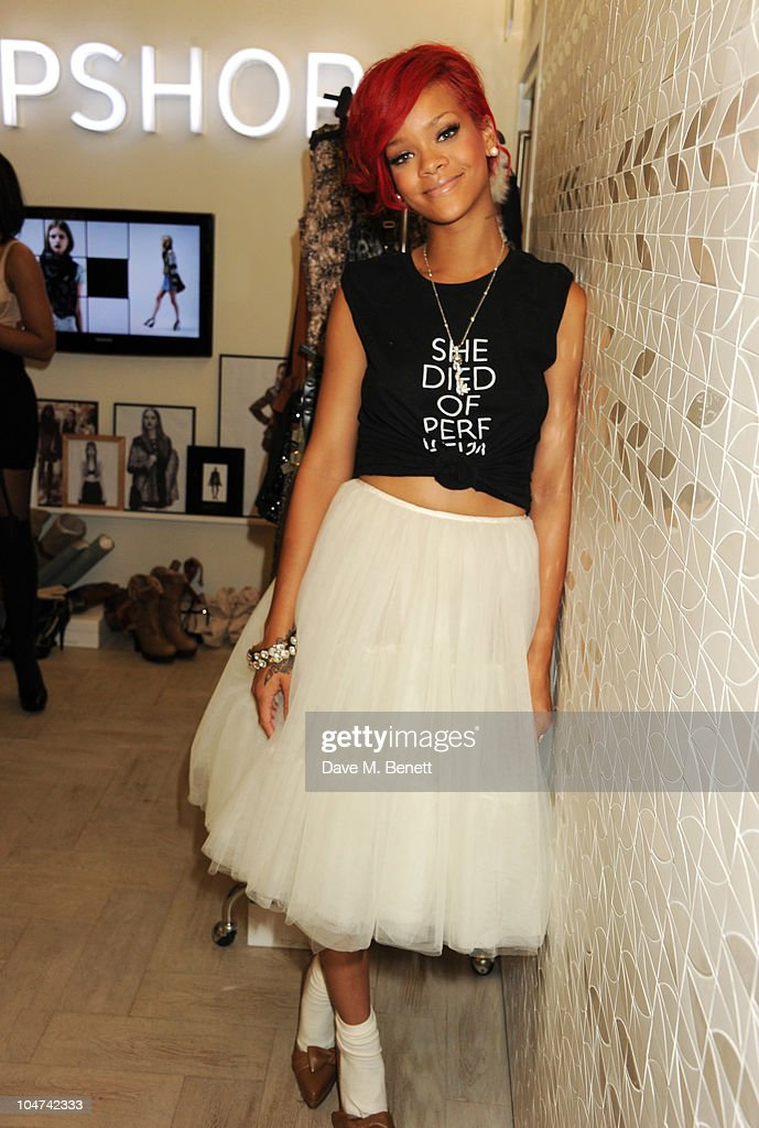Rihanna Styles Competition Winners At Topshop : News Photo