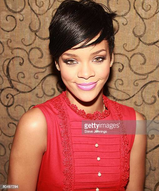 Singer Rihanna's 'Believe' Charity Meet Greet with the Variety Children's Charity of Northern California at Ruby Skye on March 28 2008 in San...