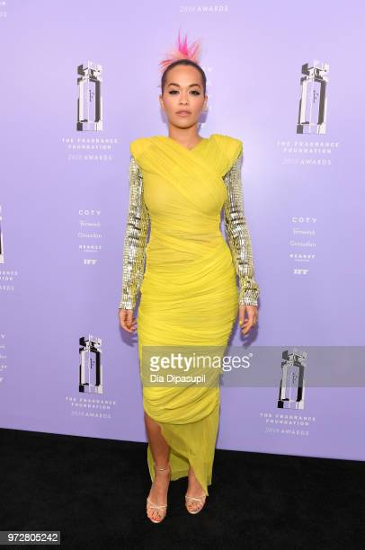 Singer Rita Ora attends 2018 Fragrance Foundation Awards at Alice Tully Hall at Lincoln Center on June 12 2018 in New York City