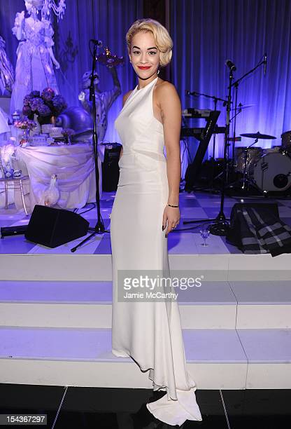 Singer Rita Ora attends Bergdorf Goodman's 111th anniversary celebration at the Plaza Hotel on October 18 2012 in New York City