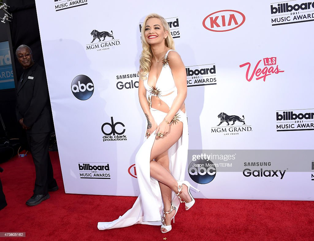 Singer Rita Ora attends the 2015 Billboard Music Awards at MGM Grand Garden Arena on May 17, 2015 in Las Vegas, Nevada.