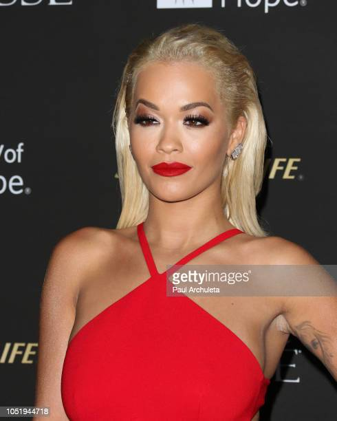 Singer Rita Ora attends the City Of Hope Gala on October 11, 2018 in Los Angeles, California.