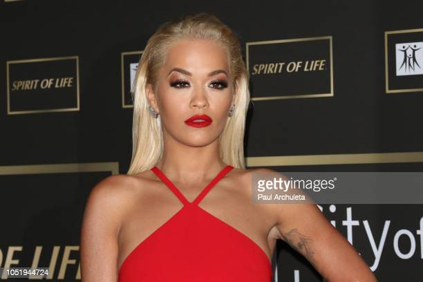 Singer Rita Ora attends the City Of Hope Gala on October 11 2018 in Los Angeles California