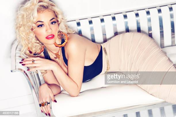 Singer Rita Ora is photographed for Press Shoot on December 1 2011 in Los Angeles California