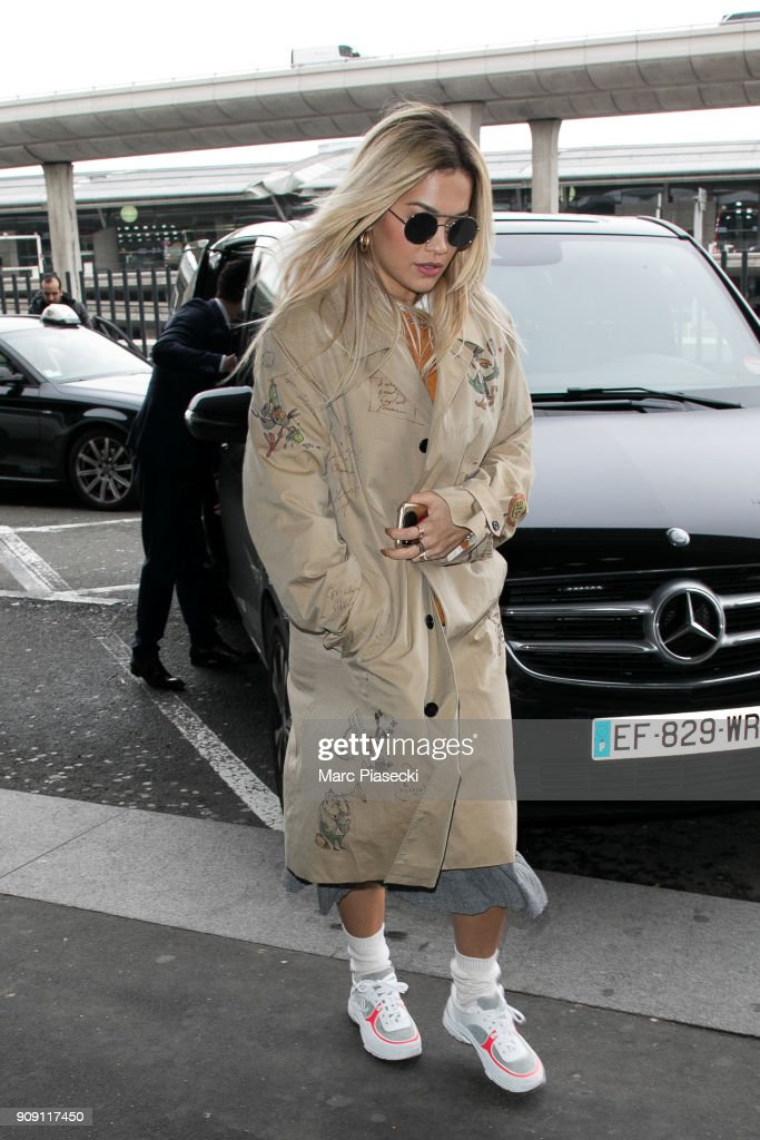 Celebrity Sightings In Paris -  January 23