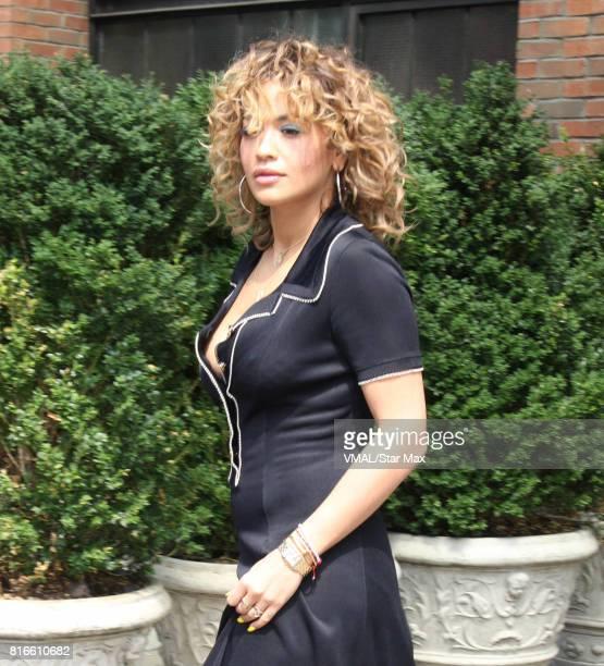 Singer Rita Ora is seen on July 17 2017 in New York City