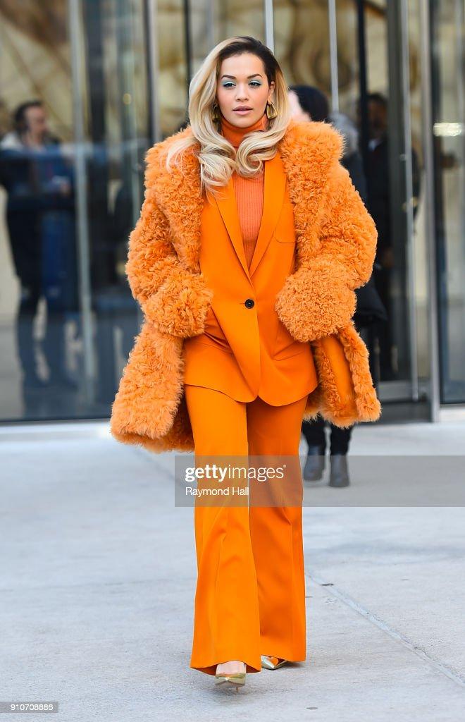 Celebs Go Bold With Furry Coats