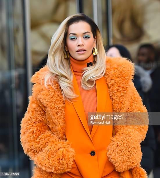 Singer Rita Ora is seen walking in Soho on January 26 2018 in New York City