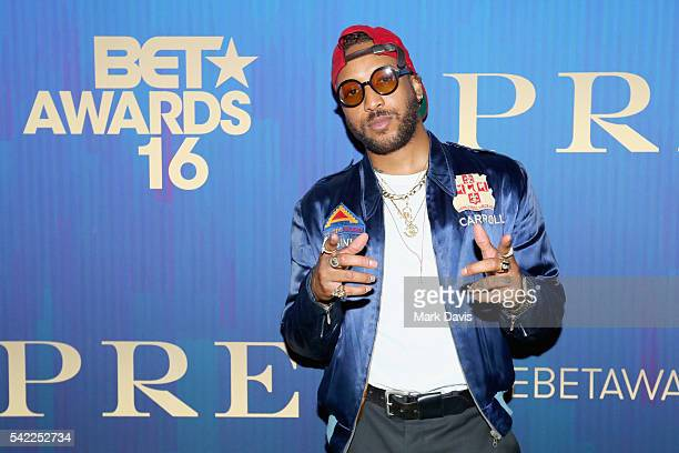 Singer Ro James attends Debra Lee's PRE kicking off the 2016 BET Awards on June 22 2016 in Los Angeles California