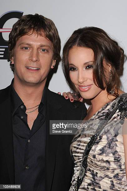 Singer Rob Thomas and Marisol Thomas arrive at the 52nd Annual GRAMMY Awards Salute To Icons Honoring Doug Morris held at The Beverly Hilton Hotel on...