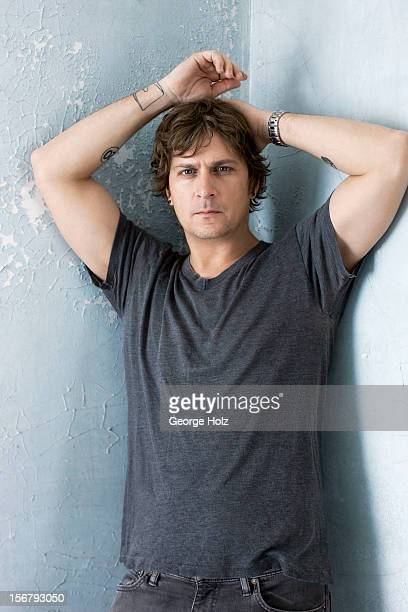 Singer Rob Thomas is photographed for People Magazine on September 24 2012 in Bedford New York PUBLISHED IMAGE
