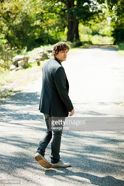 Singer Rob Thomas is photographed for People Magazine on September 24 2012 in Bedford New York