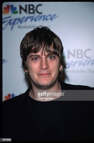 Singer Rob Thomas of Matchbox 20 poses for a picture May 13 1999 at the opening of NBC Experience in New York City The 70 minute tour tells the...