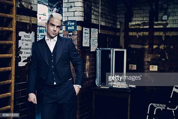Singer Robbie Williams is photographed for Vanity Fair UK on June 24 2015 in London England