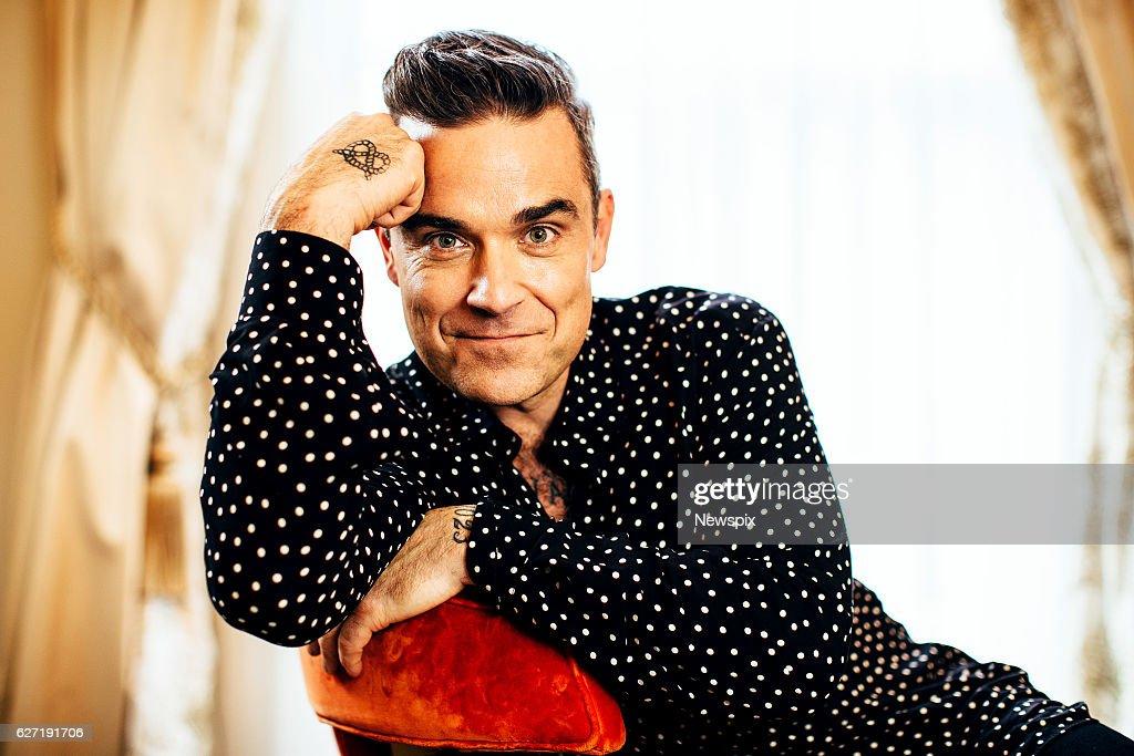 Robbie Williams Portrait Shoot