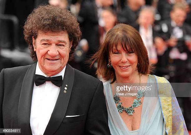 Singer Robert Charlebois and his wife Laurence Charlebois attend the Opening ceremony and the Grace of Monaco Premiere during the 67th Annual Cannes...
