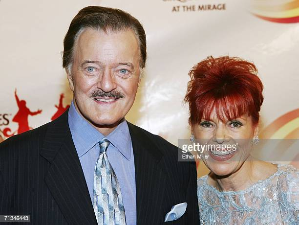 Singer Robert Goulet and his wife Vera Goulet arrive at the gala premiere of The Beatles LOVE by Cirque du Soleil at The Mirage Hotel Casino June 30...