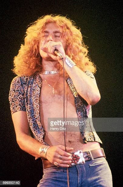 Singer Robert Plant performs with Led Zeppelin Led Zeppelin was one of the most popular and influential bands of the seventies Their big songs like...