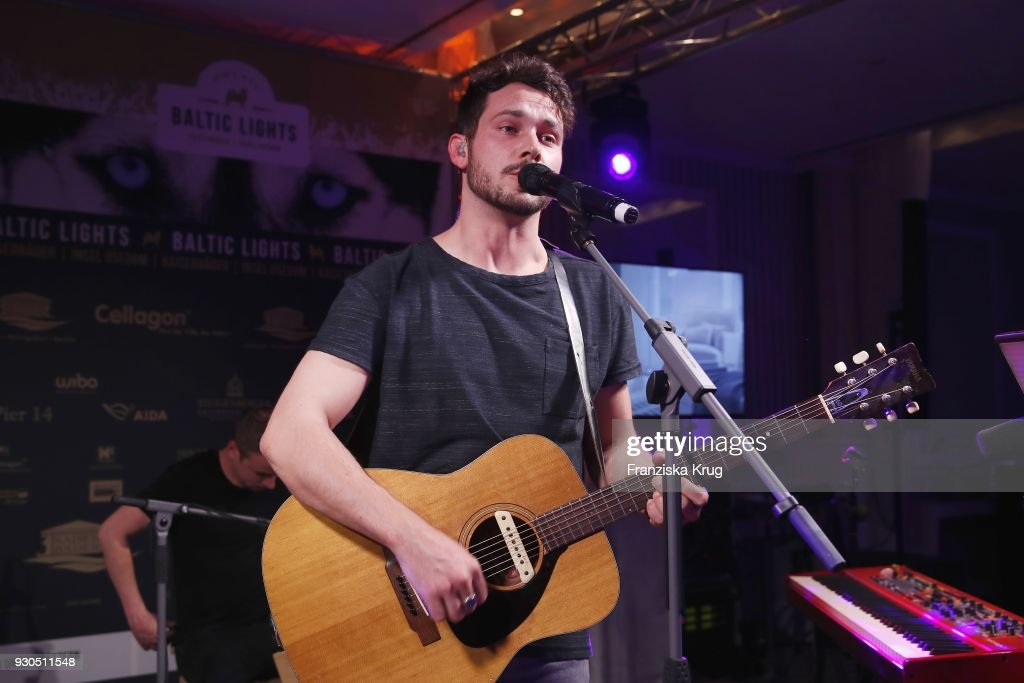 Singer Robert Redweik Performs At The Baltic Lights Charity Event