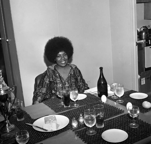 Roberta Flack Luncheon And Contract Signing Wall Art