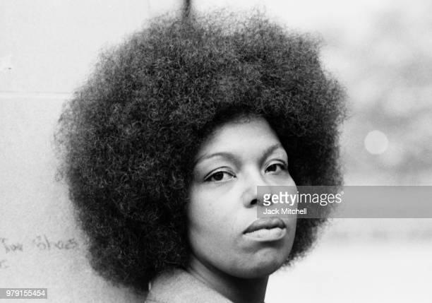 Singer Roberta Flack photographed in June 1971
