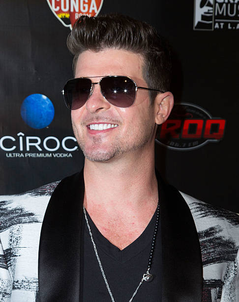 Los Angeles Confidential Grammy Party With Robin Thicke Photos and ...