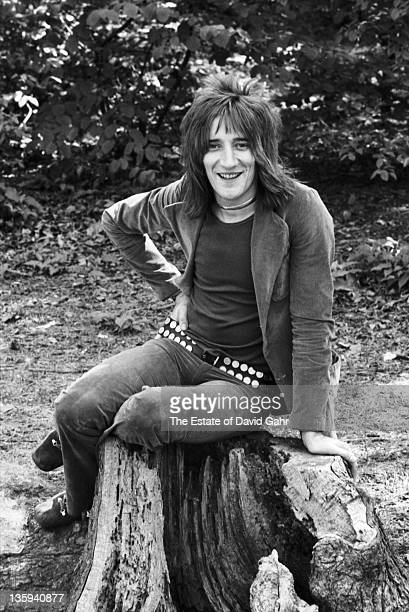 Singer Rod Stewart poses for a portrait in May 1971 in New York City New York