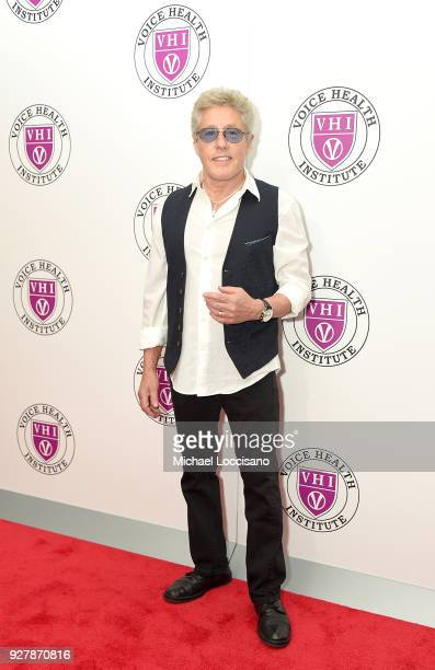"""Singer Roger Daltrey attends the red carpet arrivals for the """"Raise Your Voice"""" concert honoring Julie Andrews at Alice Tully Hall, Lincoln Center on..."""