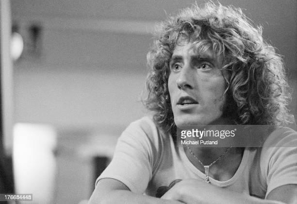 Singer Roger Daltrey of British rock group The Who London 7th September 1973