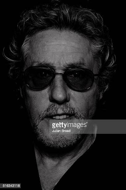 Singer Roger Daltrey of rock group The Who is photographed for Variety magazine on June 26 2015 in Glastonbury England